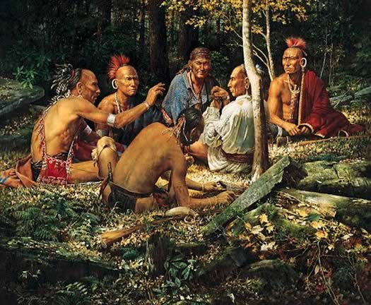 The Eastern Woodlands Native Americans - Lessons - Tes Teach